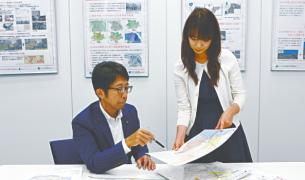 伊豆大島土砂災害ハザードマップのさらなる改良を検討中。