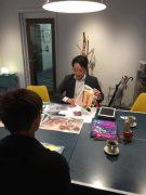 卒園生の企業訪問 協力:スペースラボ株式会社 取締役 金澤 勇輝氏
