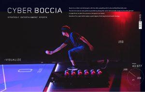 「サイバーボッチャ」×「AI」で<br />視覚障害者のプレイをサポート