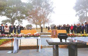 カウラ事件の慰霊式典