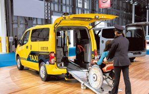 東京モーターショー2019レポート④<br />電動車いすの方も安心乗車できるタクシー